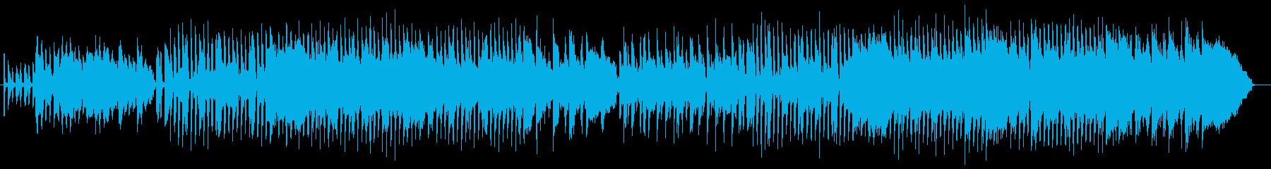 哀愁漂うブルース風ミュージックの再生済みの波形