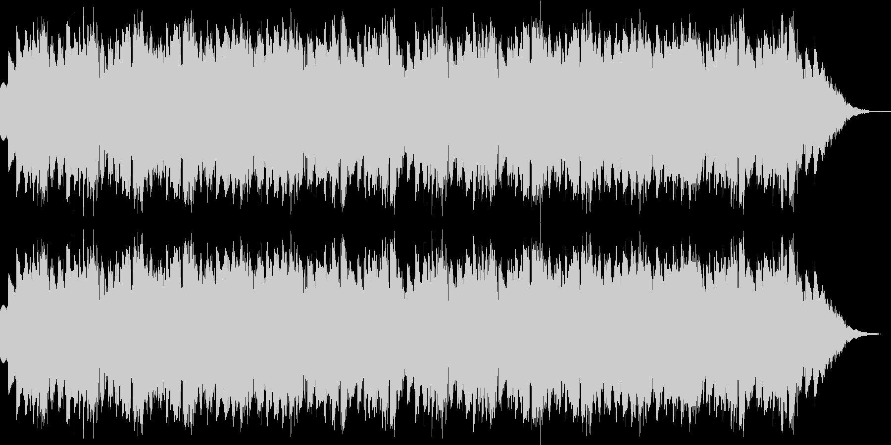 CM用BGM(シンプル、シンセ)の未再生の波形