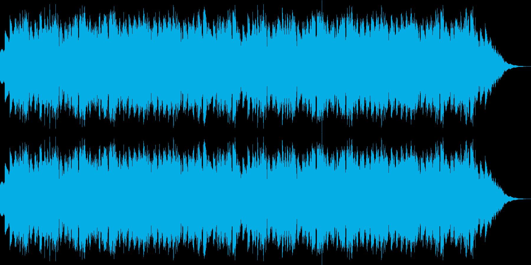 CM用BGM(シンプル、シンセ)の再生済みの波形