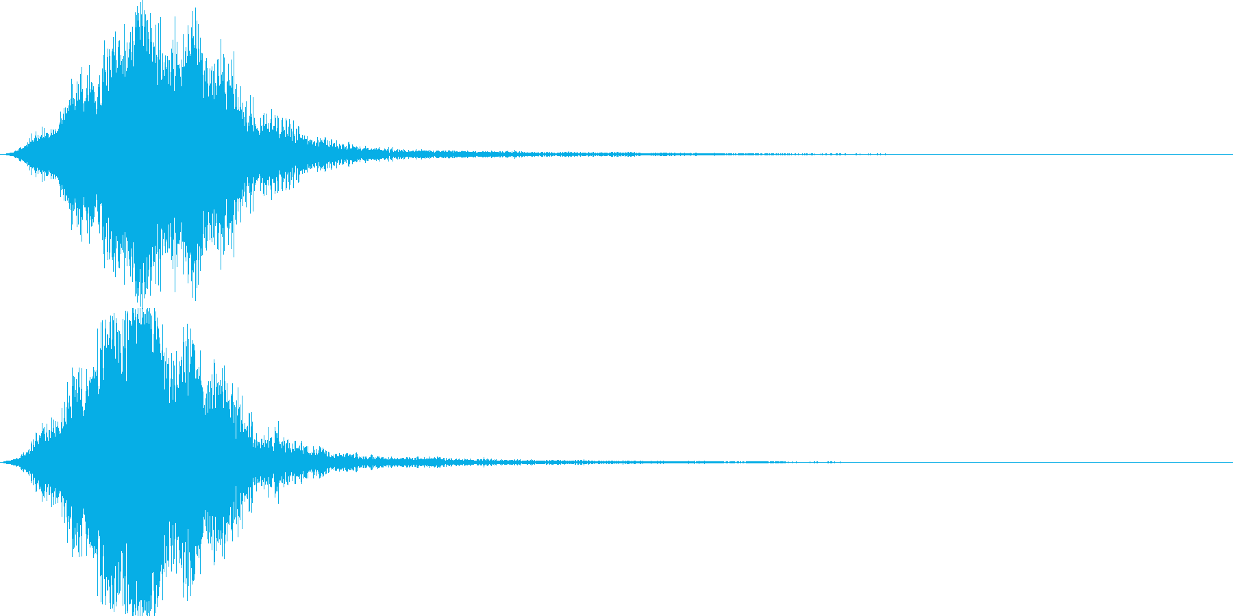 CINEMATIC Sound FXの再生済みの波形