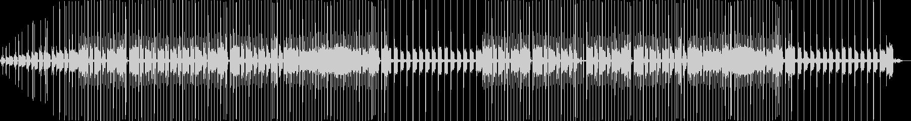 自然の中の音楽の未再生の波形