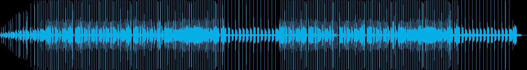 自然の中の音楽の再生済みの波形
