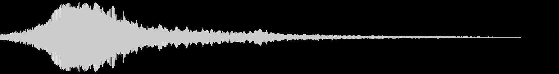 【アナログシンセ】重低音なシネマティックの未再生の波形