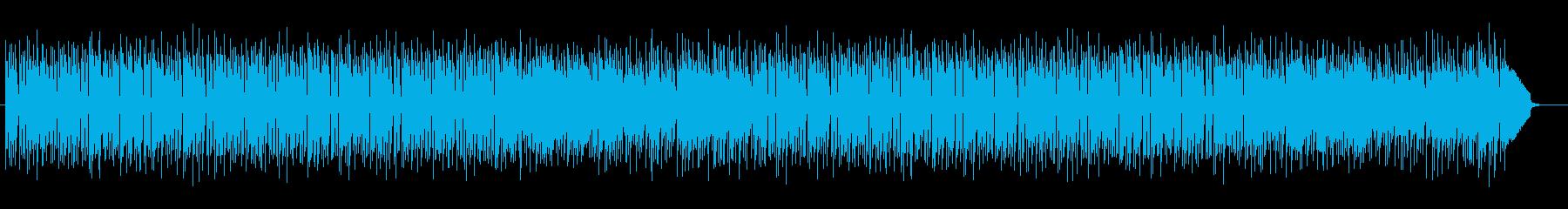 お洒落な雰囲気のピアノポップスの再生済みの波形