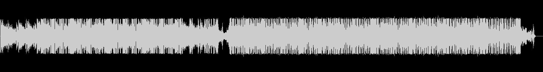 人力ドラムンベース風のエレクトロニカの未再生の波形