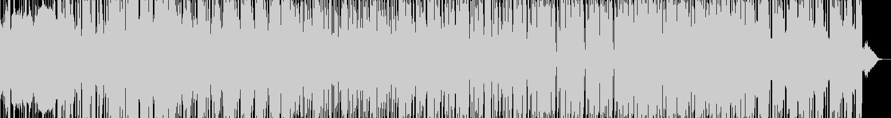 ホラー映画のBGMに使える怪しげな曲の未再生の波形