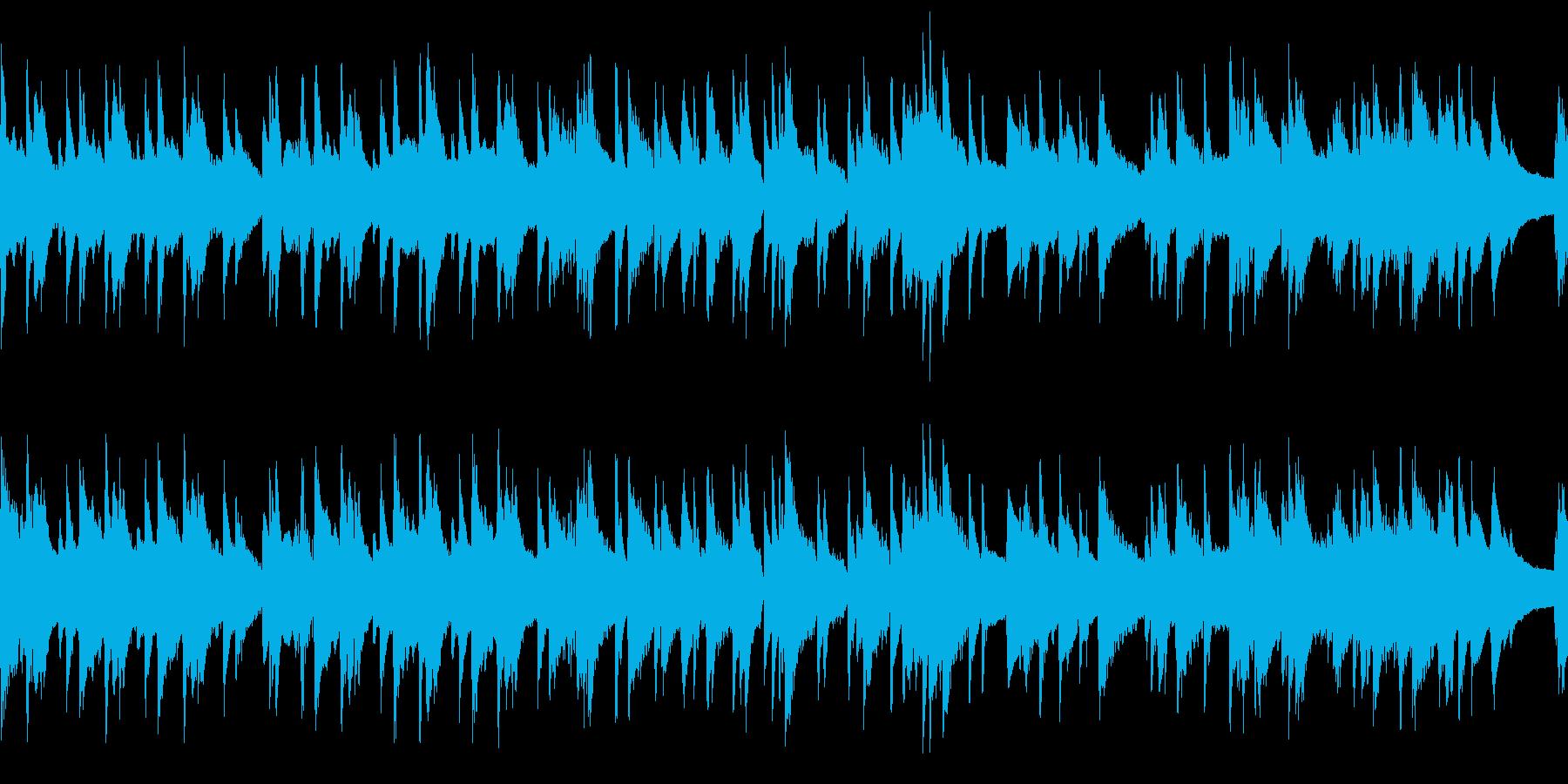 ループ ゆったりお洒落なピアノジャズの再生済みの波形
