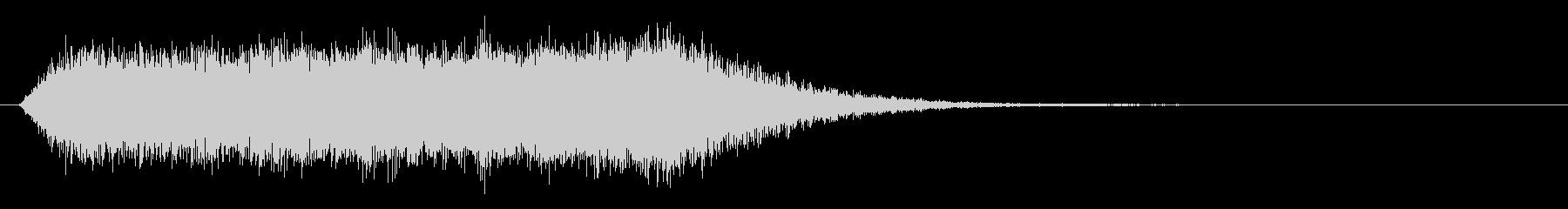 ブルガリアンボイスのジングルの未再生の波形