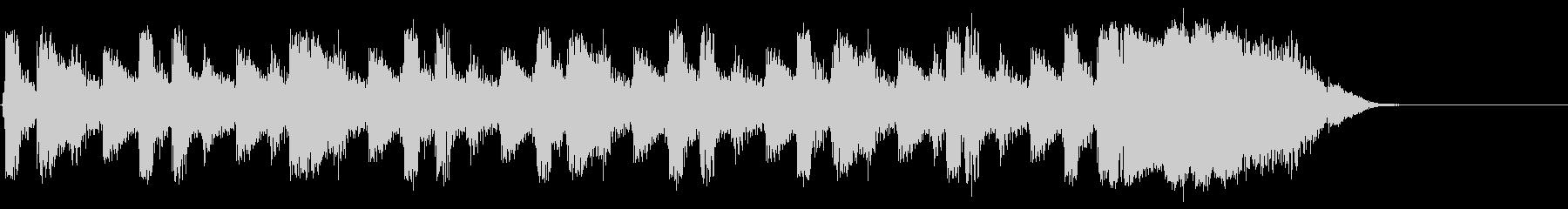 ビートトップの未再生の波形