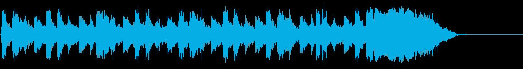 ビートトップの再生済みの波形