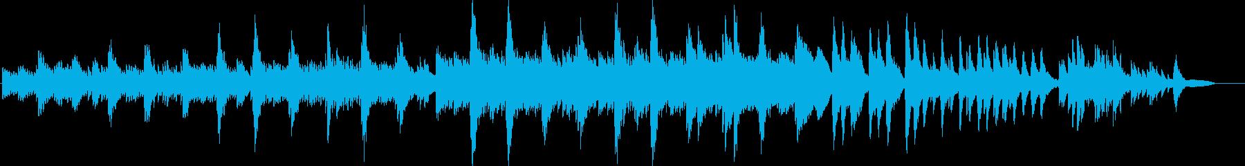 映画・映像ナレーションに最適なピアノソロの再生済みの波形