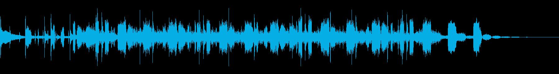 OP、ENDにも使える奇妙ビートボイス2の再生済みの波形