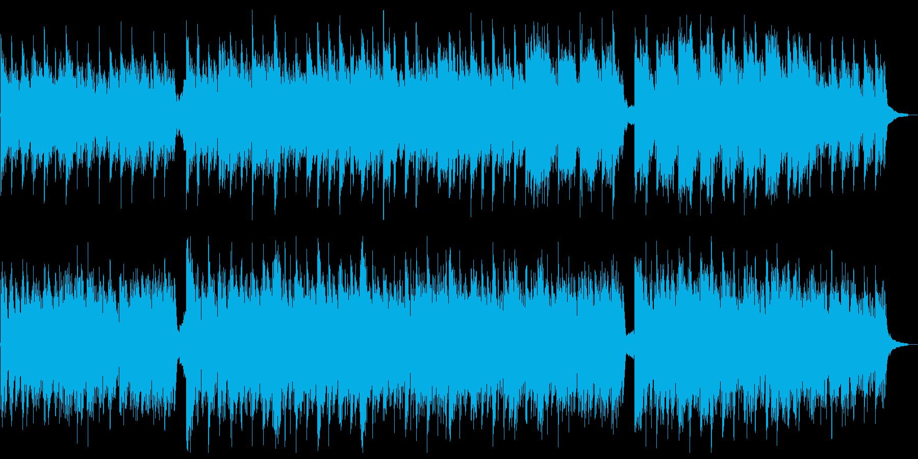 優しく温かいシンプルなピアノ曲バイエル風の再生済みの波形