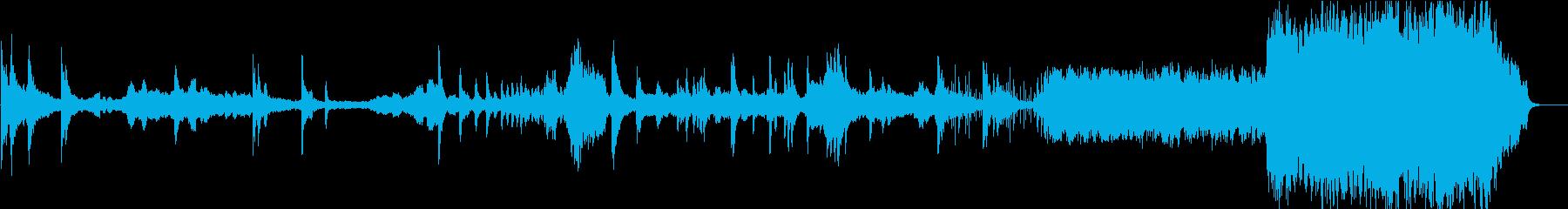 日本のホラー映画・荘厳オーケストラの再生済みの波形