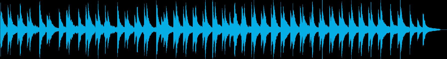 感動的・静けさ・ピアノ・映像・イベント用の再生済みの波形