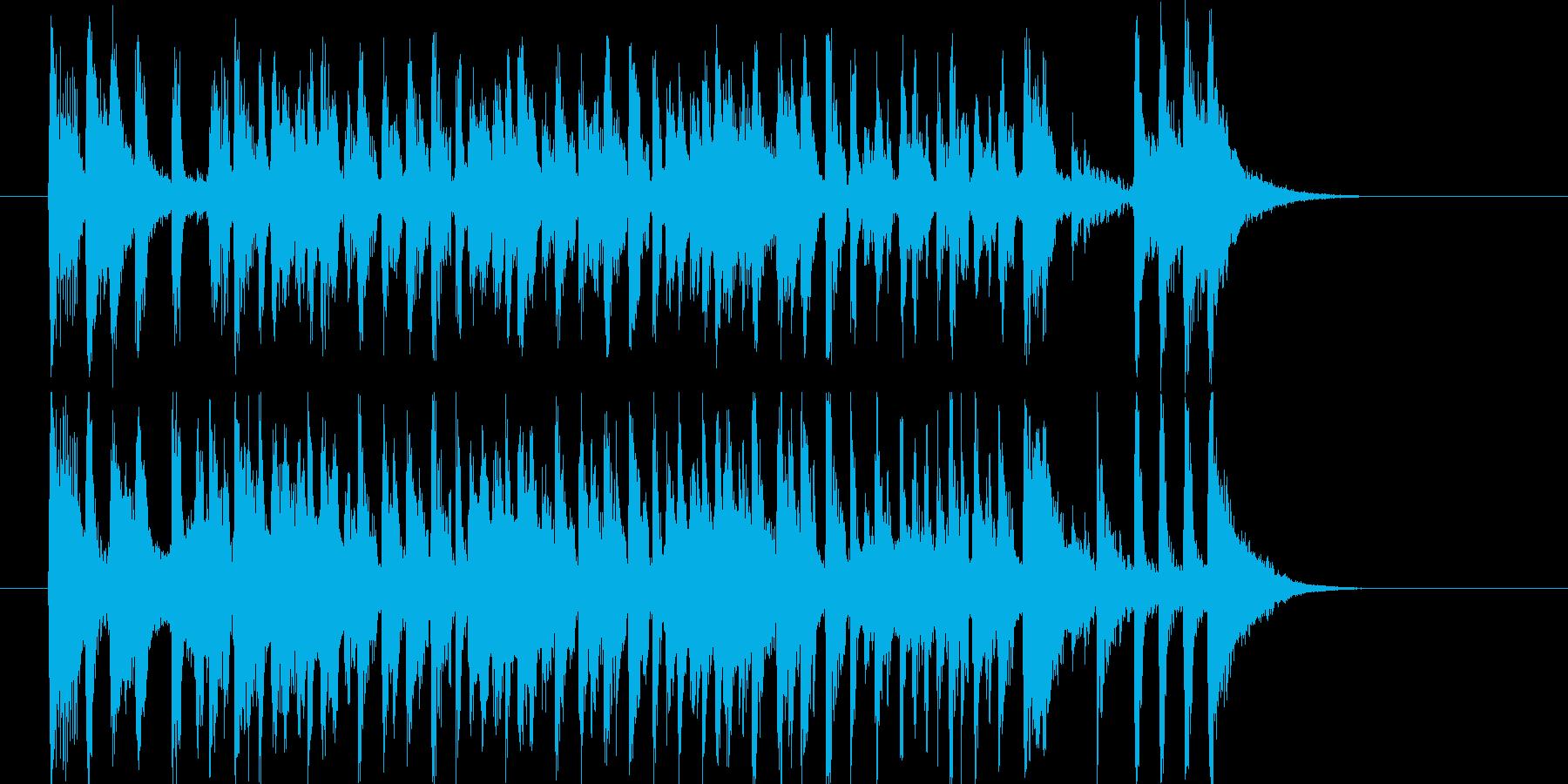 リズミカルでラテン系トランペットジングルの再生済みの波形