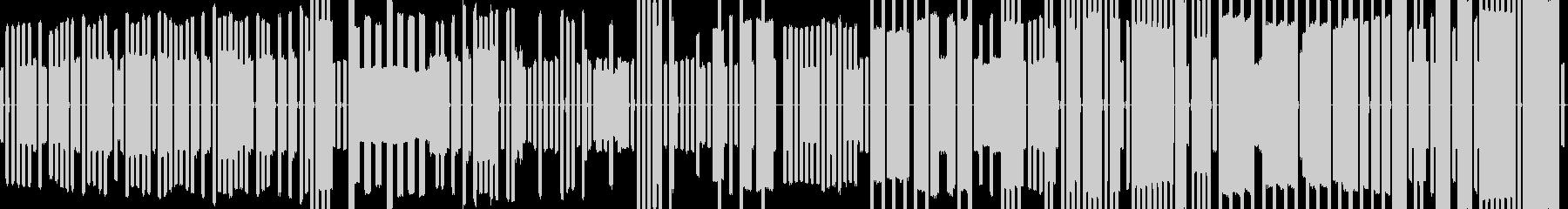 ピコピコ音のチップチューン ゲーム用の未再生の波形