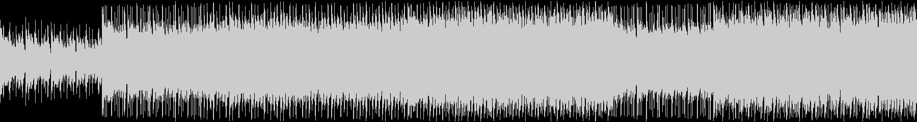 明るいキラキラトロピカルポップ ループの未再生の波形