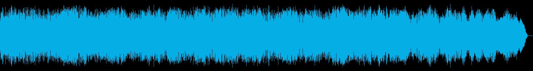 チェロ・アンビエントの再生済みの波形