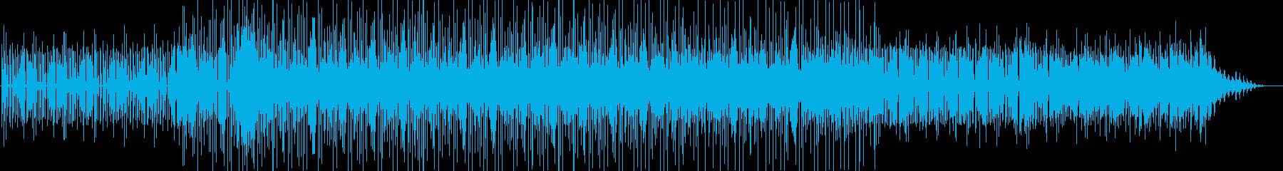 スべーシーで陽気なミニマルテクノの再生済みの波形