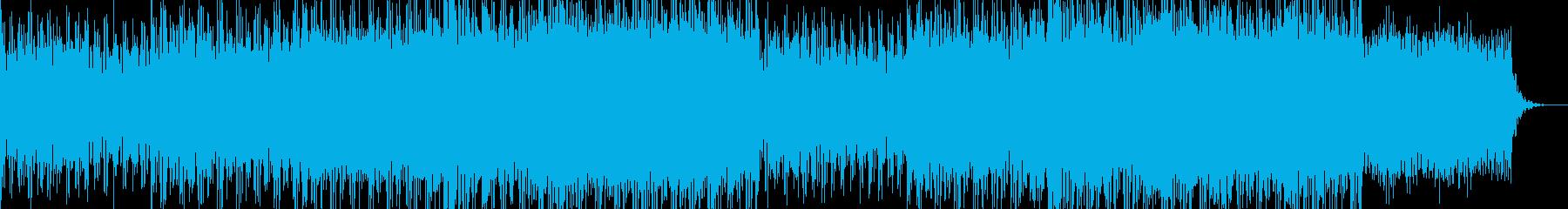 オープニング企業VPイベント-07の再生済みの波形
