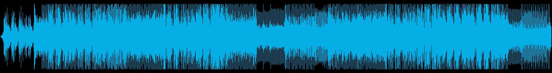 スケール感のあるシリアスなピアノEDMの再生済みの波形