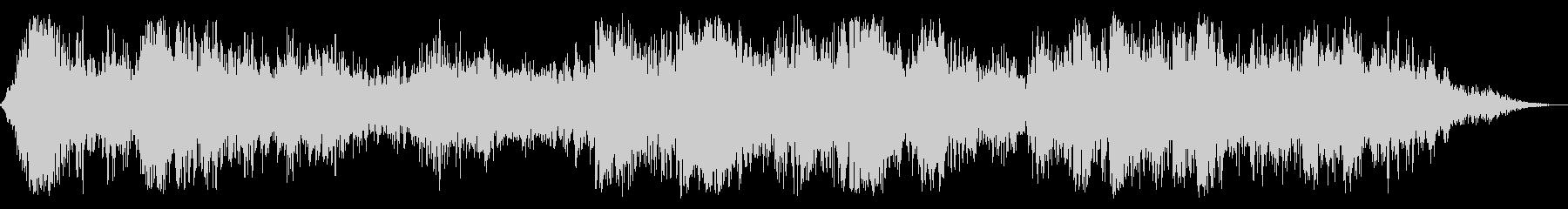 ヘビーコンスタントサンダー、ノーレインの未再生の波形