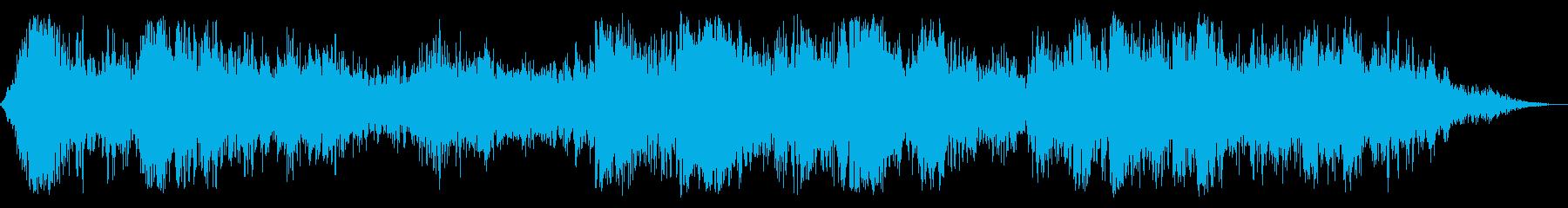 ヘビーコンスタントサンダー、ノーレインの再生済みの波形