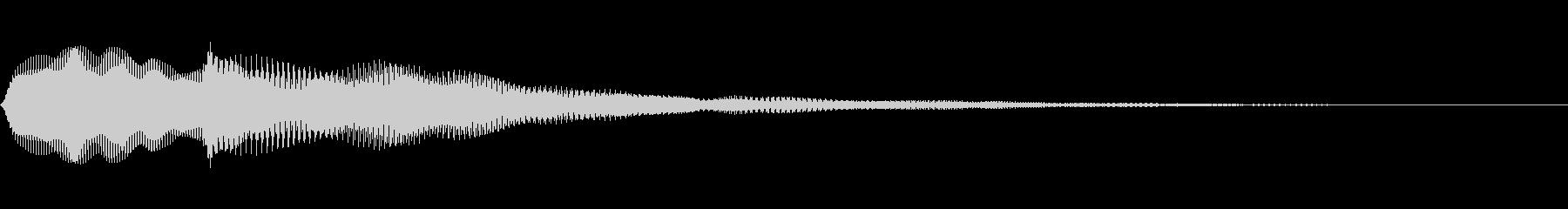 スイープを伴う危険ドローンの未再生の波形