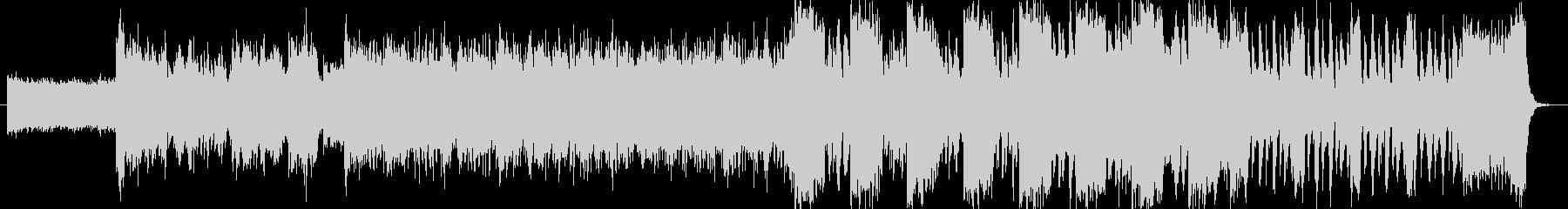 EDM系の緊迫した空気の曲(ギター入り)の未再生の波形