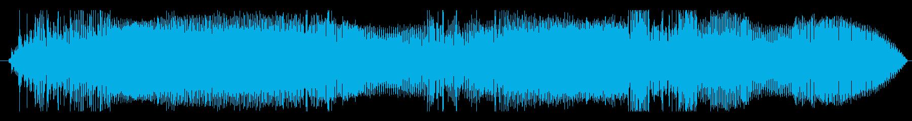 車 スバルインプレッサショートアク...の再生済みの波形