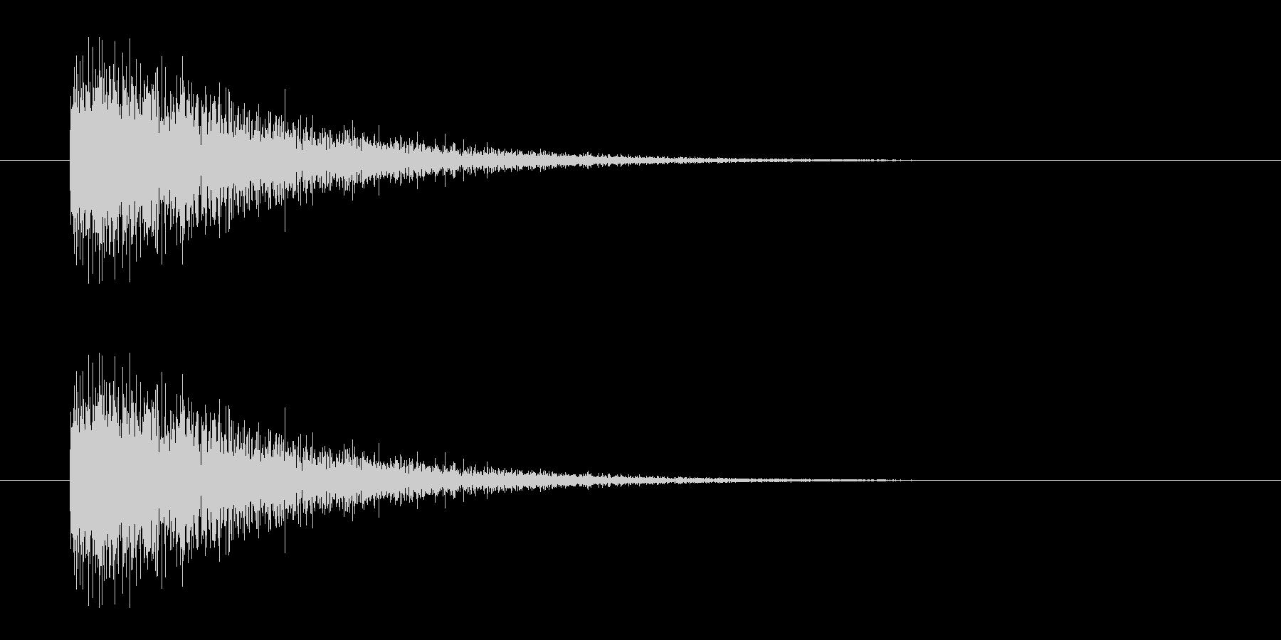 レーザー音-07-3の未再生の波形