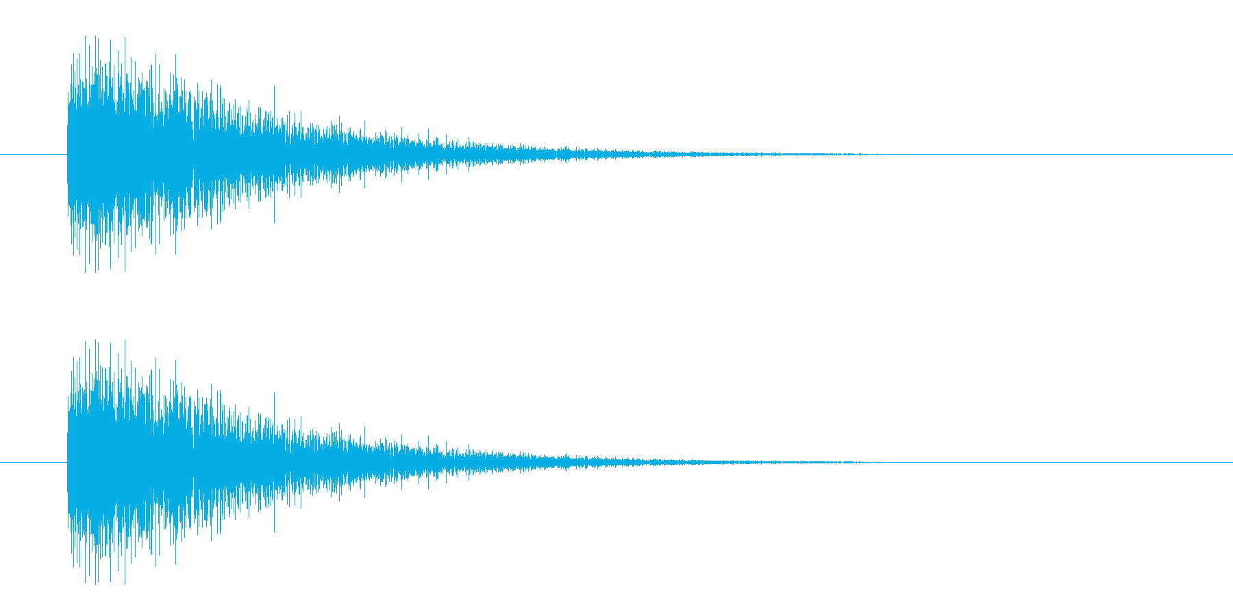 レーザー音-07-3の再生済みの波形