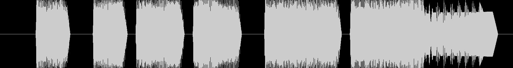 ゲーム ステージクリア(8bit)の未再生の波形
