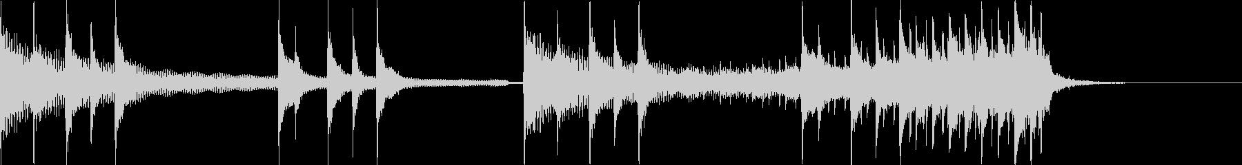 三味線+和太鼓+鼓 オープニングSEロゴの未再生の波形