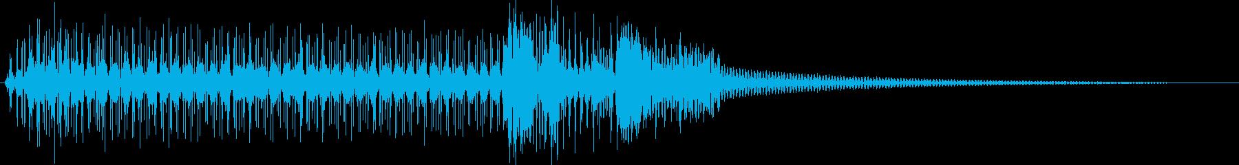 スペースインターフェイスまたはコン...の再生済みの波形