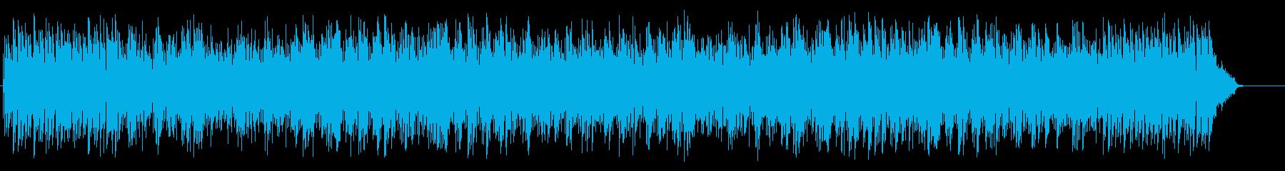 柔軟でムーディなボサノバ・ミュージックの再生済みの波形