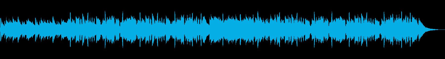 始まりのような穏やかで優しいケルトBGMの再生済みの波形