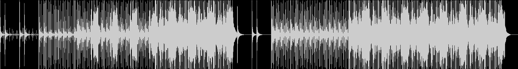 軽快なビートに切ない雰囲気のHIphopの未再生の波形
