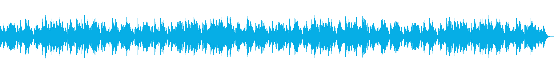 癒しのオルゴール風〜朧月夜〜の再生済みの波形