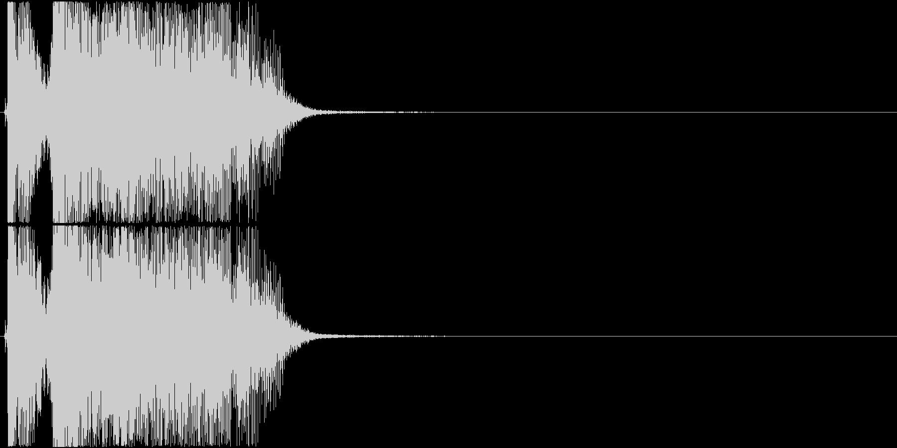 「OK!」アプリ・ゲーム用3の未再生の波形