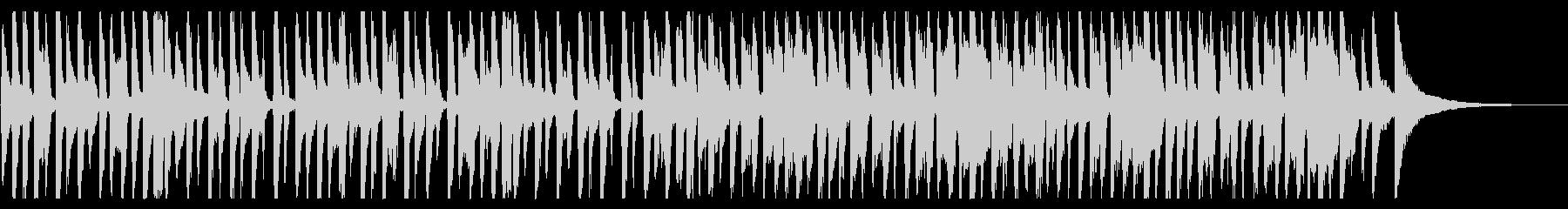 ラフなレゲエ_5の未再生の波形