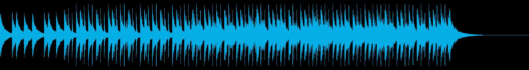 透明感あふれる朝の始まり ピアノジングルの再生済みの波形