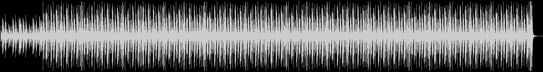 ミニマルでコミカルの未再生の波形