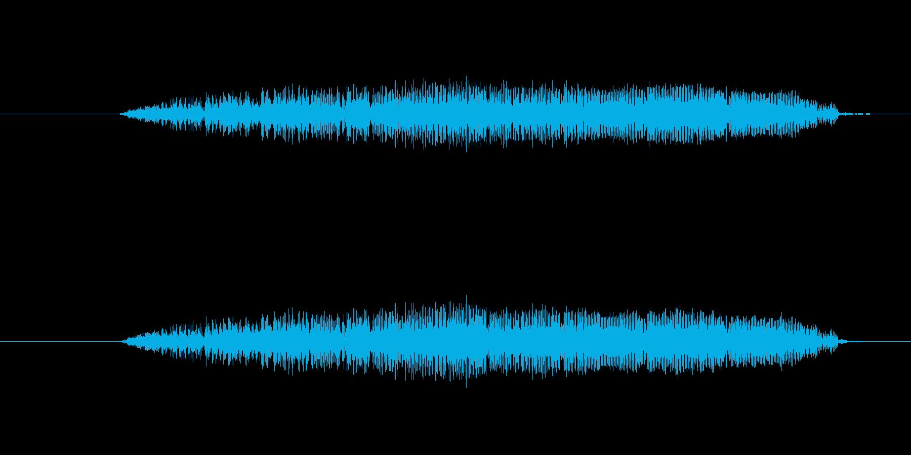 鳥 フクロウの叫び04の再生済みの波形