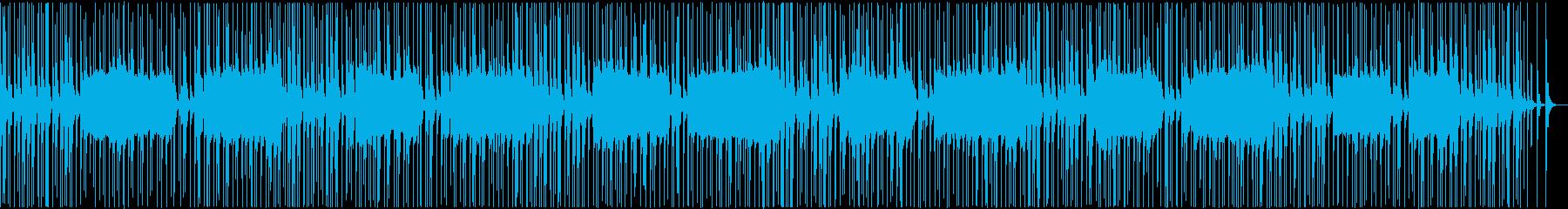 三味線 和風 茨城県民謡 猿島豊年音頭の再生済みの波形
