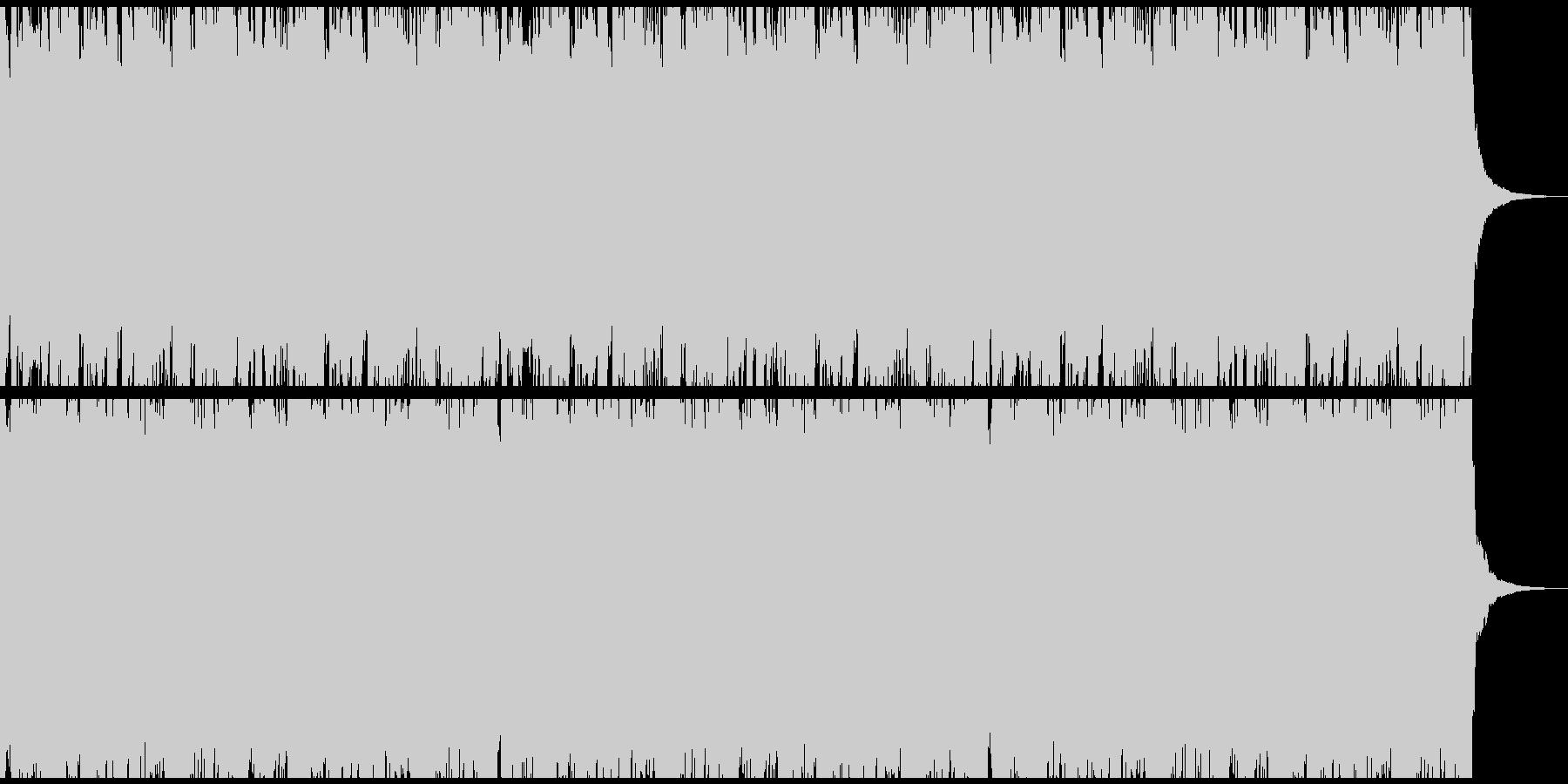 生演奏のアコギリードが印象的なサウンドの未再生の波形