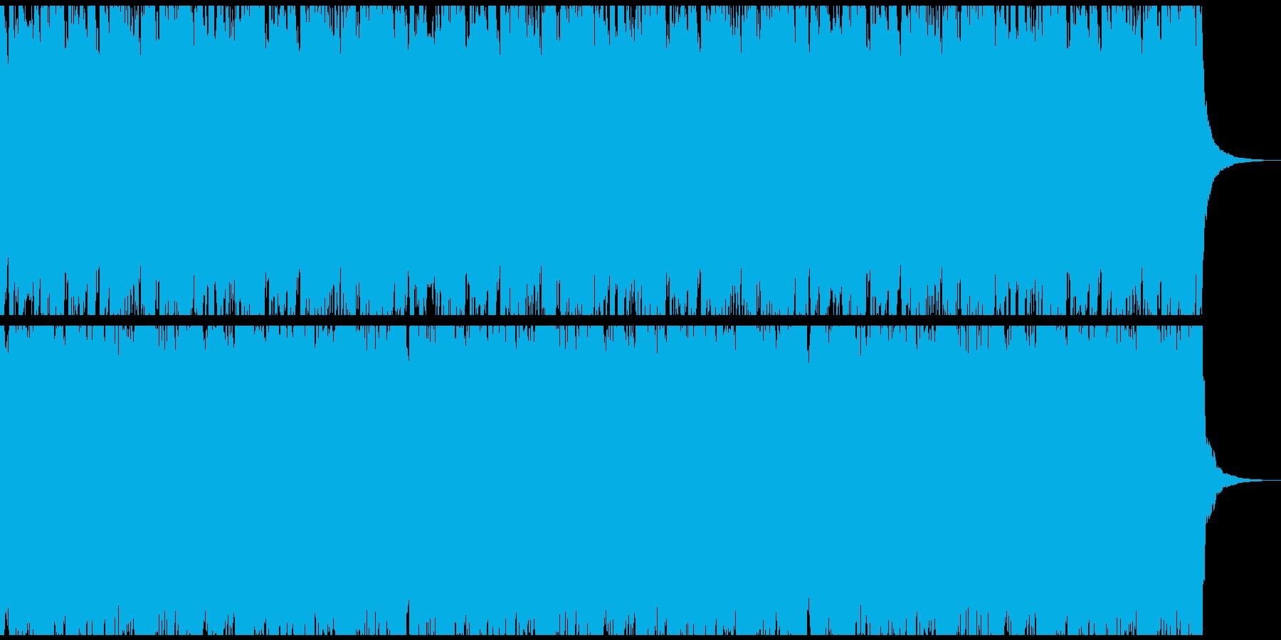 生演奏のアコギリードが印象的なサウンドの再生済みの波形