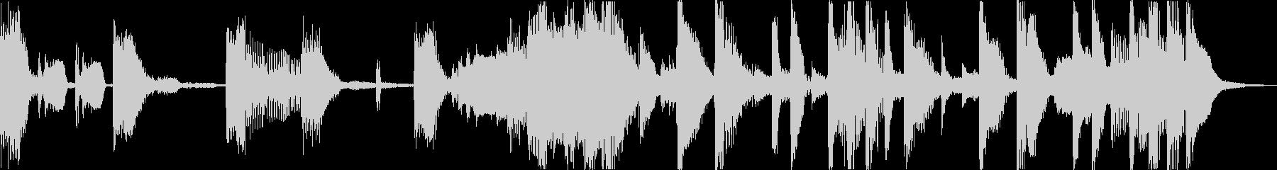おしゃれ洋楽ヒップホップR&Bソウルeの未再生の波形