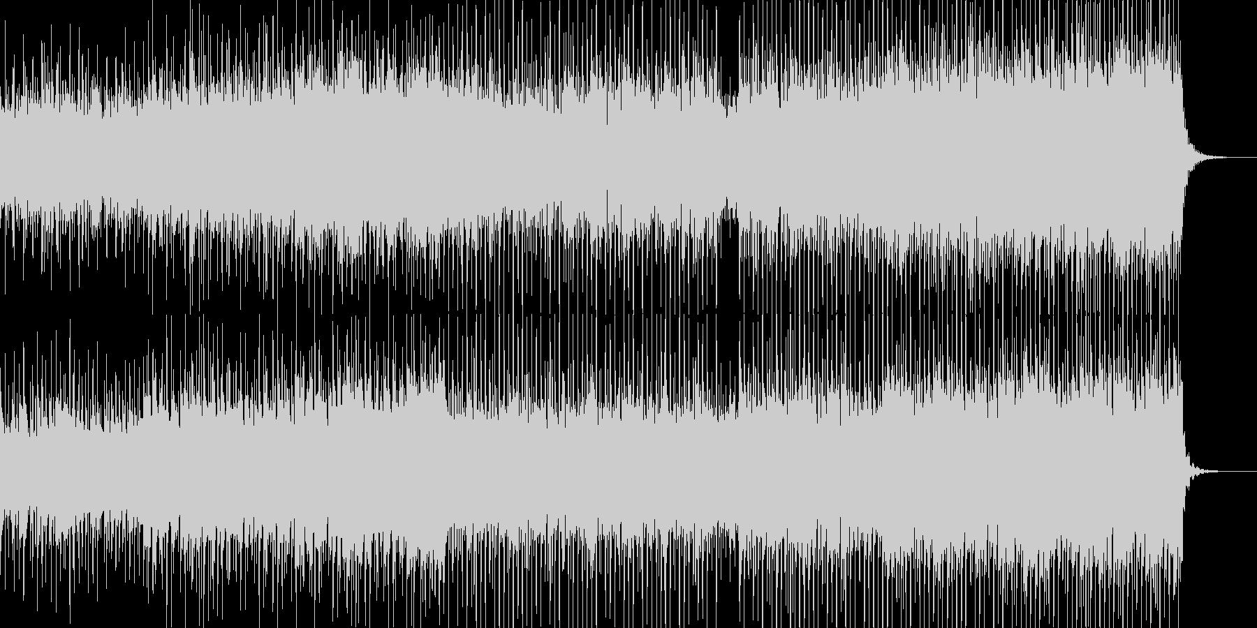 シンセ、アコギ、コーラスのEDMの未再生の波形